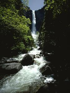 Bridalveil Falls by James P. Blair