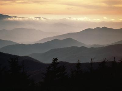 Clingman's Dome, Great Smoky Mountains by James P^ Blair