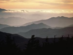 Clingman's Dome, Great Smoky Mountains by James P. Blair
