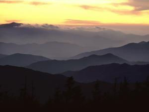 Clingman's Dome Is the Highest Point in Tennessee at 6,643 Feet by James P. Blair