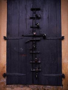 Door with Locks, Haiti by James P. Blair