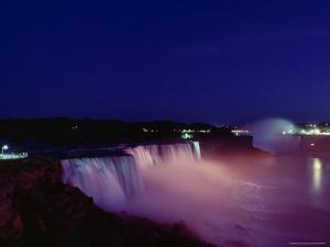 Horseshoe Falls by James P. Blair