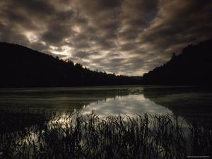Killbuck Lake, Appalachian Mountains, West Virginia by James P. Blair