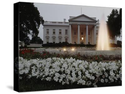 North Side of the White House at Twilight, Washington D.C.