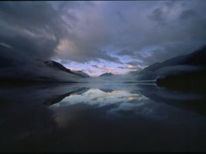 Sunset at Lake Crescent, Olympic National Park, Washington by James P. Blair