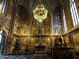 The Interior of Saint Vitus Cathedral, Prague by James P. Blair