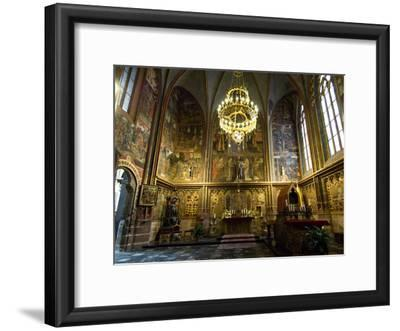 The Interior of Saint Vitus Cathedral, Prague