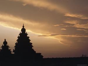 The Shore Temple at Mahabalipuram Is Constructed of Granite Blocks, Tamil Nadu State, India by James P. Blair