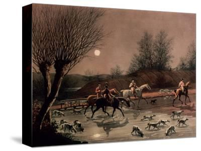 Returning Home by Moonlight (Colour Litho)