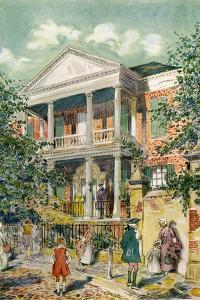 Pringle House, Charleston, South Carolina, USA, C18th Century by James Preston