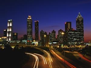 Atlanta at Dusk by James Randklev