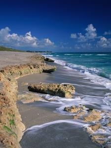 Beach on Jupiter Island by James Randklev