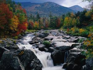 Cascades on Ausable River by James Randklev