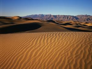 Death Valley Sand Dunes by James Randklev
