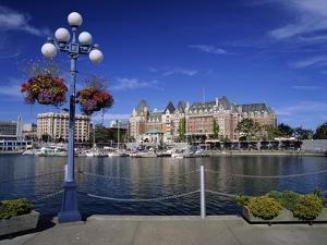 Empress Hotel Along Victoria Harbour by James Randklev