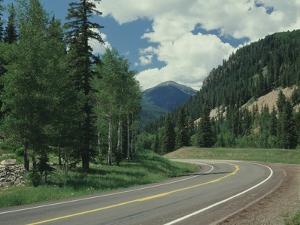 Highway 550 in the San Juan Mountains by James Randklev