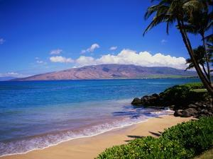 Kihei Beach and West Maui Mountains by James Randklev