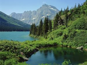 Lake Josephine and Grinnell Point by James Randklev