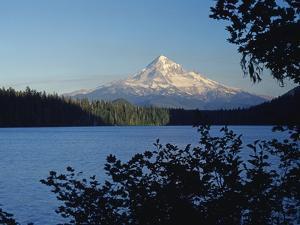 Lost Lake and Mount Hood by James Randklev
