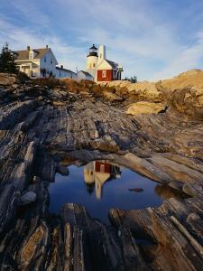 Pemaquid Lighthouse by James Randklev