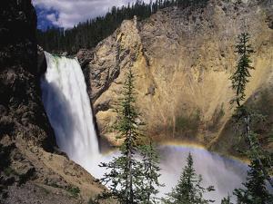 Rainbow at Lower Yellowstone Falls by James Randklev