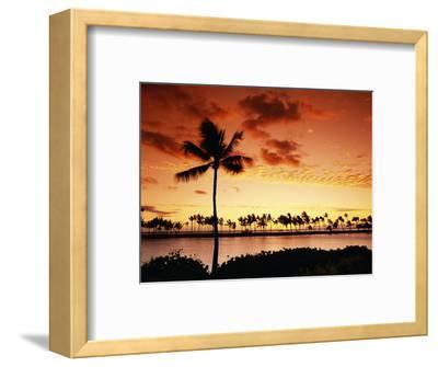 Sunset at Anaehoomalu Bay