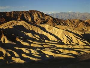 Zabriskie Point, Death Valley by James Randklev