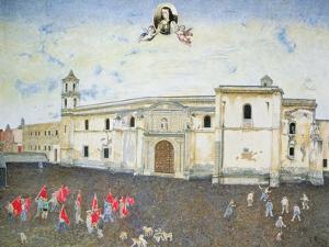 Political Protest, the Cloister of Sor Juana De La Cruz (1648-95) 2001 by James Reeve
