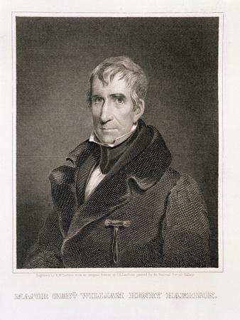 Major General William Henry Harrison, 9th President of the United States of America