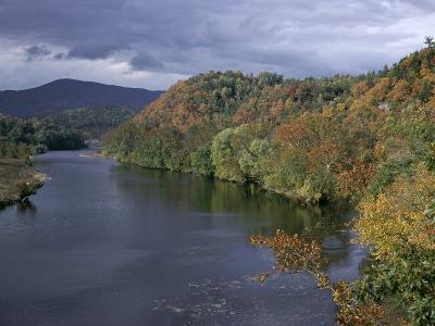 James River, Blue Ridge Parkway, Virginia, USA-James Green-Photographic Print