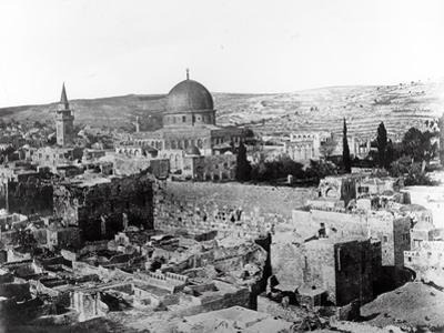 Dome of the Rock, 1857 by James Robertson and Felice Beato