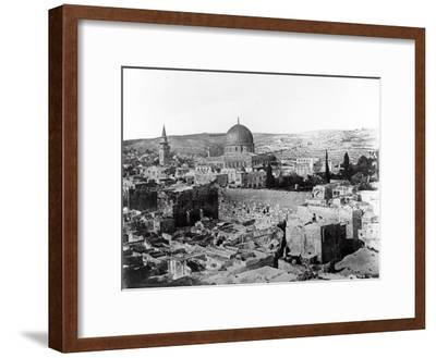Dome of the Rock, 1857