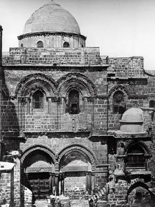 The Church of the Holy Sepulchre, 1857 by James Robertson and Felice Beato