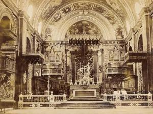 Interior of St John's Co-Cathedral in Valetta, Malta, 1850 by James Robertson