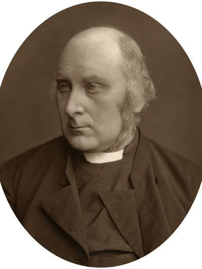 James Russell Woodford, Bishop of Ely, 1880-Lock & Whitfield-Photographic Print