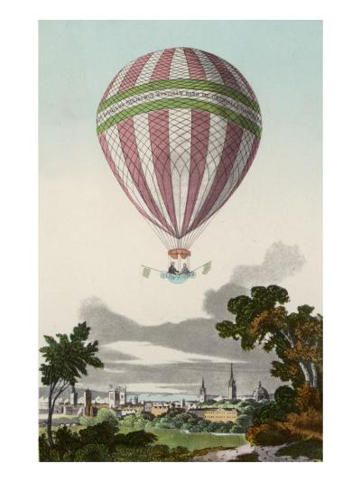 James Sadler's Balloon Ascent at Oxford--Giclee Print