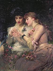 A Thorn Amidst Roses, C.1887 by James Sant