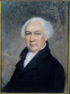 Portrait of Gouverneur Morris (1752-1816) by James Sharples