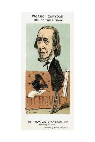 James Stansfeld, British Politician, C1871-1874- Faustin-Giclee Print
