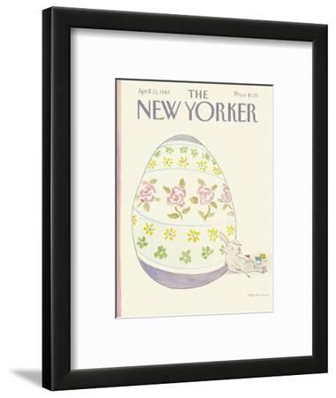 The New Yorker Cover - April 12, 1982