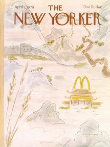 The New Yorker Cover - April 2, 1979 by James Stevenson