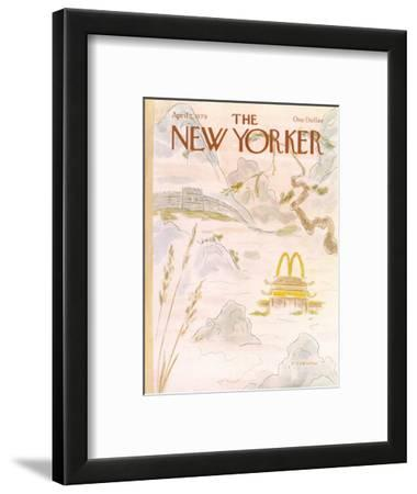 The New Yorker Cover - April 2, 1979