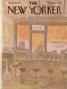 The New Yorker Cover - April 28, 1975 by James Stevenson