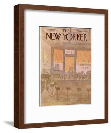 The New Yorker Cover - April 28, 1975