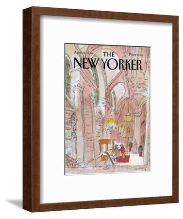 The New Yorker Cover - April 28, 1986