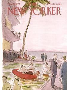 The New Yorker Cover - August 19, 1972 by James Stevenson