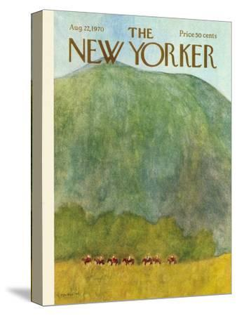The New Yorker Cover - August 22, 1970