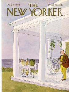 The New Yorker Cover - August 31, 1968 by James Stevenson