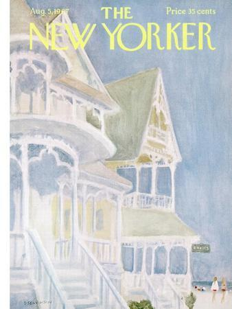 The New Yorker Cover - August 5, 1967