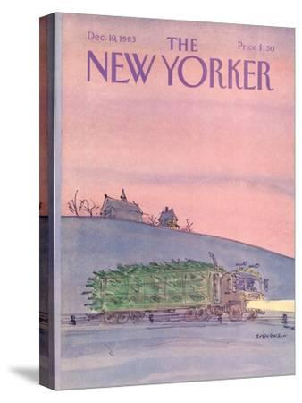 The New Yorker Cover - December 19, 1983